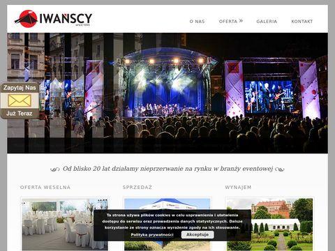 Wynajem namiotów bankietowych, weselnych, wystawowych Kraków