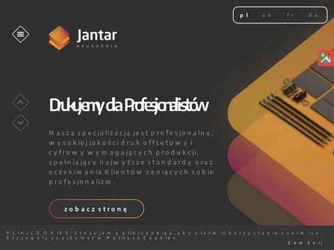 Jantar24.com druk etykiet Warszawa