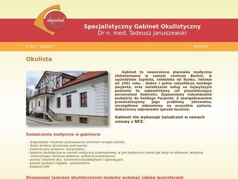 Dr Tadeusz Januszewski operacje zaćmy kraków