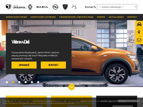 Jaszpol - Autoryzowany koncesjoner Renault i Dacia - dealer - salon 艁贸d藕/Zgierz