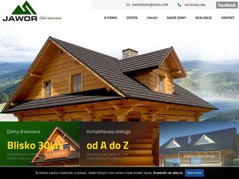 Jawordomy.com - Domy z drewna, tradycyjne chaty góralskie