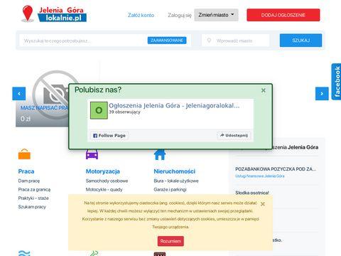Jeleniagoralokalnie.pl - og艂oszenia