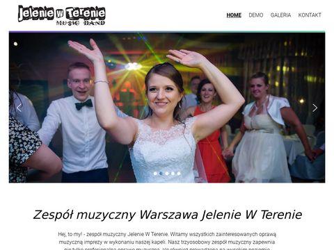 Zespół muzyczny Warszawa, zespół na wesele - Jelenie w Terenie