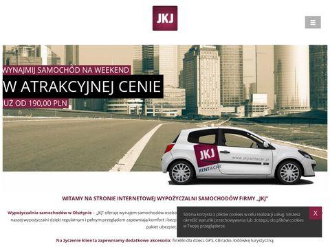 Wypożyczalnia samochodów zastępczych JKJ