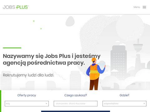 Agencja pracy Jobs Plus
