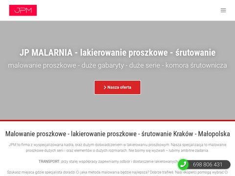 Malowanie proszkowe Kraków - lakierowanie proszkowe - JP Malarnia