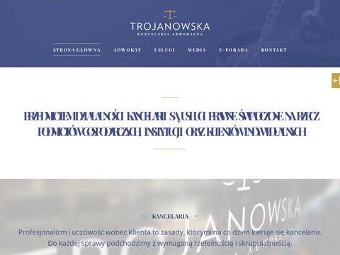 Adwokat Trojanowska Gdynia - Us艂ugi Prawne