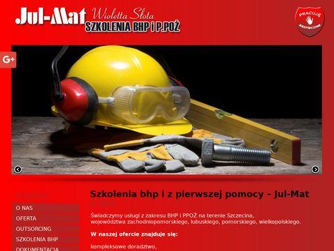 JUL-MAT szkolenia z pierwszej pomocy Szczecin