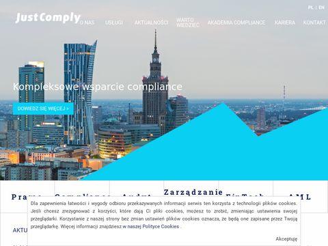 JustComply Compliance, Audyt, ZarzÄ…dzanie ryzykiem