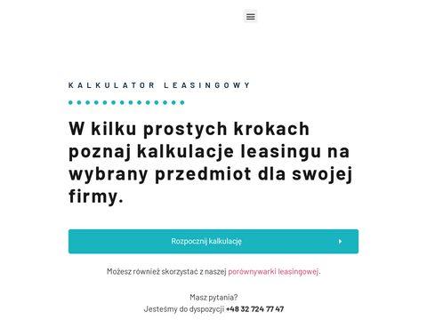 Kalkulator Leasingowy