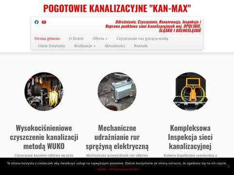 Czyszczenie-kanalizacji - kan-max.pl