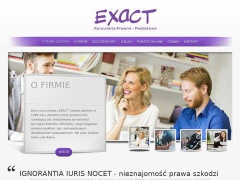 Kancelaria Prawno Podatkowa EXACT Kraków