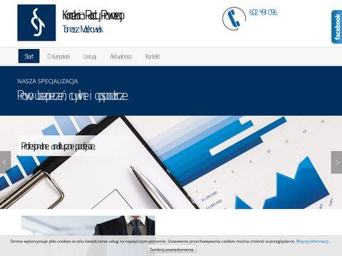 Radca Prawny w Kaliszu Tomasz Maćkowiak