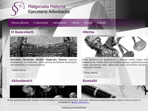 Kancelaria-Materna.com Adwokat w Warszawie