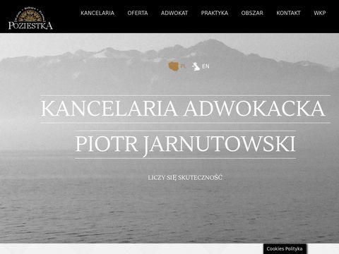 Adwokat Piotr Jarnutowski. Kancelaria Adwokacka w Ostrołęce│POZIESTKA •WKP•