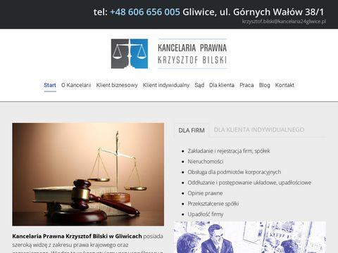 Radca Prawny & Adwokat - Kancelaria Prawna Gliwice Krzysztof Bilski
