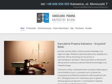 Kancelaria Prawna Katowice - Krzysztof Bilski | Radca Prawny & Adwokat