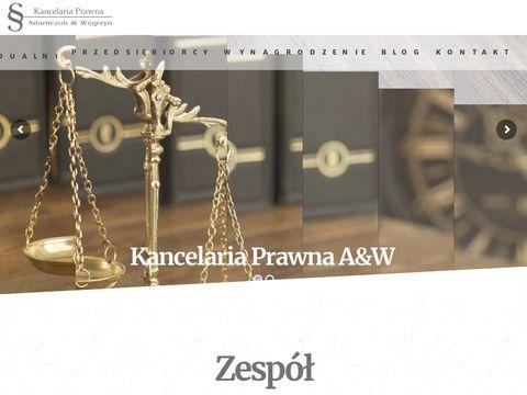 Prawnik Warszawa Bemowo, Ochota, WÅ'ochy, Wola - kancelariaprawna-aw.pl