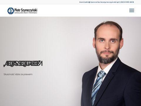KancelariaSzyroczynski.pl - Odszkodowania za błędy medyczne