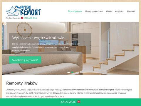 Firma budowlana z Krakowa - KapitanRemont.pl