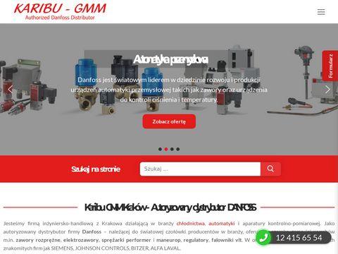 Dystrybutor Danfoss KARIBU-GMM - zawory, sprężarki, falowniki