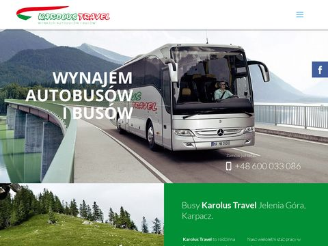 Wynajem Bus贸w Jelenia G贸ra, Karpacz.