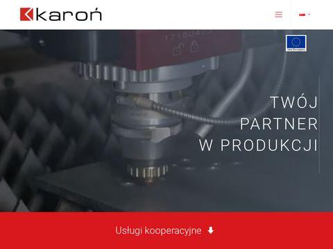 Zak艂ad Produkcyjny Karo艅 | produkcja wyrob贸w metalowych