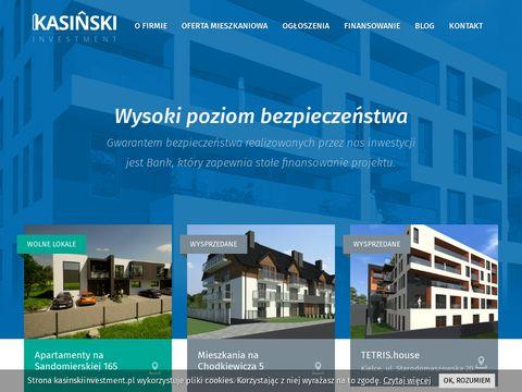 Kasiński Investment nieruchomości sprzedaż Kielce