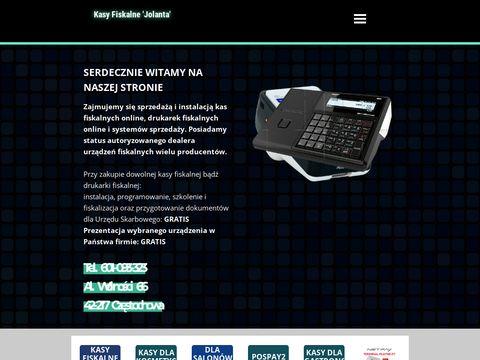 Firma Jolanta - Kasy Fiskalne CzÄ™stochowa