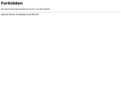 Katalog stron ORX