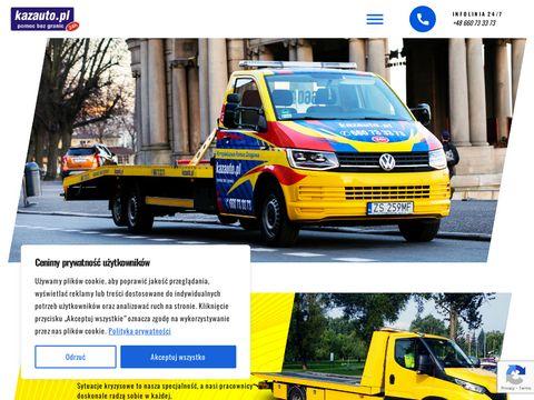 Kazauto.pl - Pomoc drogowa, Wypo偶yczalnia samochod贸w Szczecin