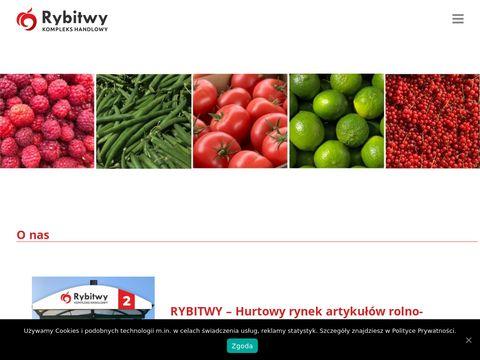 Kompleks Handlowy Rybitwy - ceny owoców i warzyw