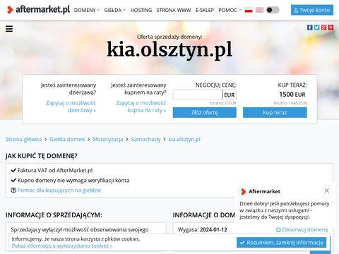 Samochody Kia Olsztyn - salon, dealer, serwis.