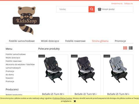 Kidsszop.pl foteliki samochodowe 0-13