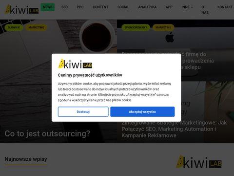 Blog o marketingu internetowym | KiwiLab