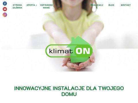 Pompy ciepła - klimat-on.pl