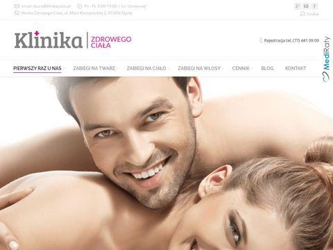 Medycyna estetyczna Opole 鈥� Zabiegi dla m臋偶czyzn - klinikaciala.pl