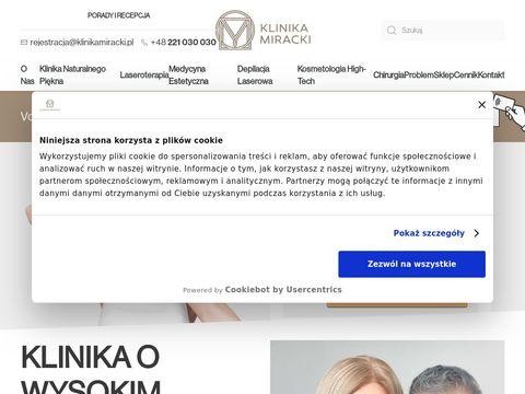 Klinika Miracki - Kliniki medycyny estetycznej Warszawa