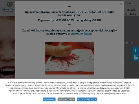 Klinikazdrowedziecko.pl alergolog dzieciÄ™cy