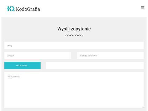Składanie stron - kodografia.pl