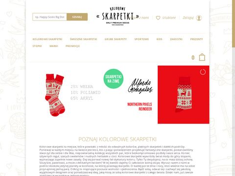 Koloroweskarpetki.pl | Happy Socks i Nanushki