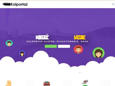 Dystrybucja ulotek w Katowicach - Kolporta偶 w 艣l膮skim