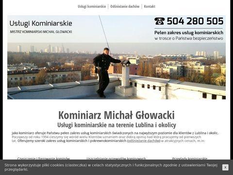 Usługi kominiarskie na terenie Lublina