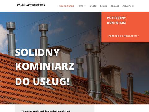 Pogotowie kominiarskie Warszawa