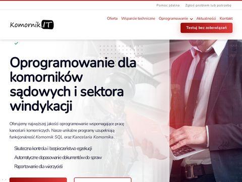 Komornik.IT – Oprogramowanie dla Komorników Sądowych i Sektora Windykacji