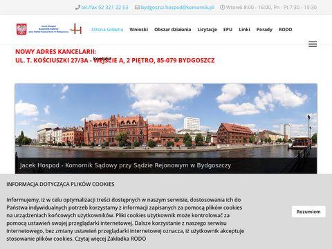 Jacek Hospod - Komornik SÄ…dowy Przy SÄ…dzie Rejonowym Bydgoszcz