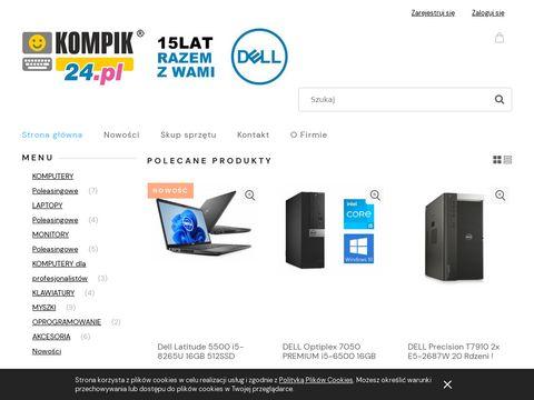Laptopy u偶ywane - kompik24.pl
