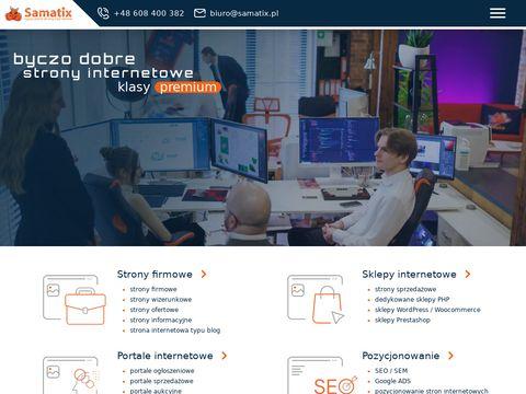 SAMATIX:: strony internetowe