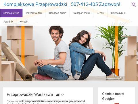 Kompleksowe Przeprowadzki w Warszawie