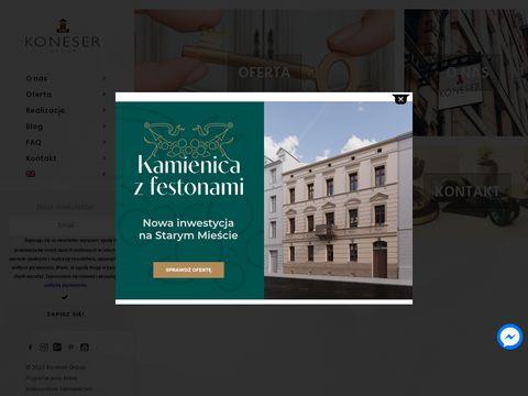 Koneser Group -mieszkania w Krakowie